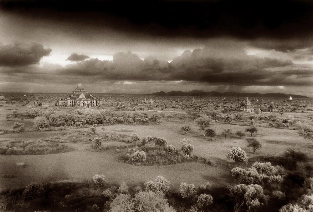 Storm Over the Plains - Bagan, Myanmar.