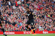 Tom Huddlestone of Hull City in action.  Premier League match, Liverpool v Hull City at the Anfield stadium in Liverpool, Merseyside on Saturday 24th September 2016.<br /> pic by Chris Stading, Andrew Orchard sports photography.