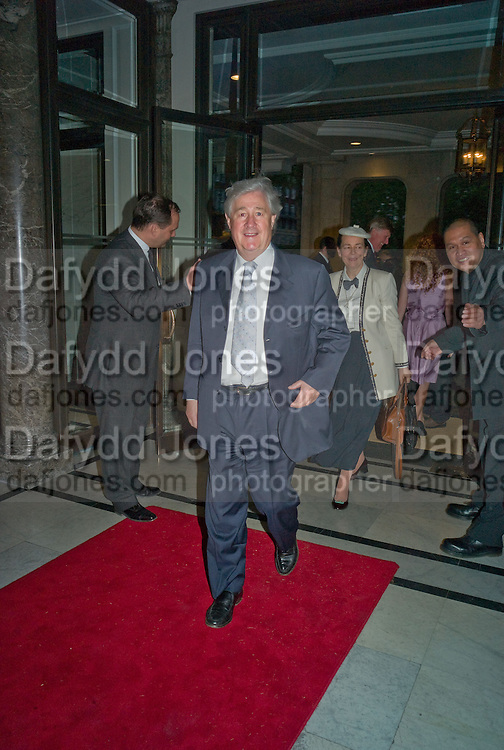 GEOFFREY ROBINSON, The Spectator 180th Anniversary party, at the Churchill Hotel, London, 7 May 2008.  *** Local Caption *** -DO NOT ARCHIVE-© Copyright Photograph by Dafydd Jones. 248 Clapham Rd. London SW9 0PZ. Tel 0207 820 0771. www.dafjones.com.