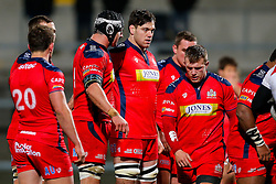 Bristol Rugby replacement Glen Townson looks on - Mandatory byline: Rogan Thomson/JMP - 13/11/2015 - RUGBY UNION - Kingspan Stadium - Belfast, Northern Ireland - Ulster Ravens v Bristol Rugby - The British & Irish Cup Pool 2.