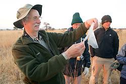 Gary Checking Small Mammal Traps