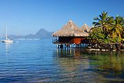 Moorea Island Bungalows in Tahiti