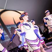 © Maria Muina I MAPFRE. Awards ceremony for Leg 8 in Newport. Ceremonia de entrega de premios de la etapa 8 en Newport