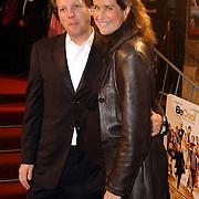Premiere Be Cool, zwangere Paulien Huizinga en partner Michel Moll