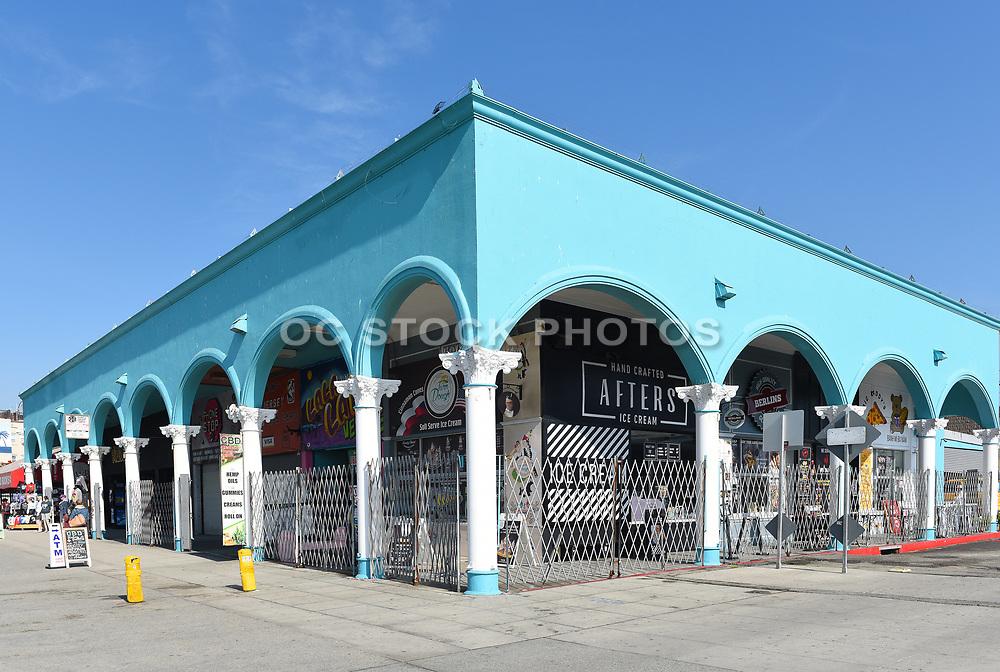 Venice Beach Ocean Front Walk Shops and Souvenir Stores