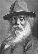 Walt Whitman (1819-1891) American poet.