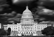 Washington DC is not only the nation's capital, but it is also a major tourist destination. This image of the U.S. Capitol, shows the grandeur of the building and its importance to our democracy.