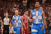 DESCRIZIONE :  Lega A 2014-15  EA7 Milano -Banco di Sardegna Sassari playoff Semifinale gara 7<br /> GIOCATORE : Dyson Jerome<br /> CATEGORIA : Low Esultanza Mani <br /> SQUADRA : Banco di Sardegna Sassari<br /> EVENTO : PlayOff Semifinale gara 7<br /> GARA : EA7 Milano - Banco di Sardegna Sassari PlayOff Semifinale Gara 7<br /> DATA : 10/06/2015 <br /> SPORT : Pallacanestro <br /> AUTORE : Agenzia Ciamillo-Castoria/Richard Morgano<br /> Galleria : Lega Basket A 2014-2015 Fotonotizia : Milano Lega A 2014-15  EA7 Milano - Banco di Sardegna Sassari playoff Semifinale  gara 7<br /> Predefinita :