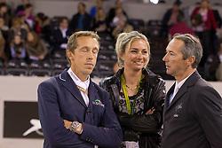 Hemeryck Rik (BEL), Delaveau Patrice (FRA)<br /> Rolex FEI World Cup™ Jumping Final 2012<br /> 'S Hertogenbosch 2012<br /> © Dirk Caremans