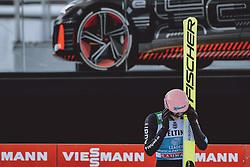 01.01.2021, Olympiaschanze, Garmisch Partenkirchen, GER, FIS Weltcup Skisprung, Vierschanzentournee, Garmisch Partenkirchen, Einzelbewerb, Herren, im Bild Karl Geiger (GER) // Karl Geiger of Germany during the men's individual competition for the Four Hills Tournament of FIS Ski Jumping World Cup at the Olympiaschanze in Garmisch Partenkirchen, Germany on 2021/01/01. EXPA Pictures © 2020, PhotoCredit: EXPA/ JFK