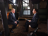 President Donald Trump on Meet The Press