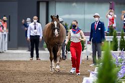 Maksakova Aleksandra, ROC, Bojengels, 160<br /> Olympic Games Tokyo 2021<br /> © Hippo Foto - Dirk Caremans<br /> 23/07/2021