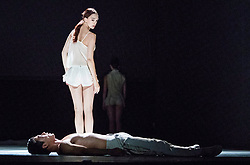 Nederlands Dans Theatre perform three works (Stop-Motion, Shoot The Moon, The missing door) at the Edinburgh International Festival. The performances run from 21-23 August 2017 at Edinburgh Playhouse<br /> <br /> Pictured: Sol Leon & Paul Lightfoot's Stop-Motion