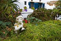 Grece, Cyclades, ile de Tinos, detail dans le village de Karia // Greece, Cyclades islands, Tinos, Karia village