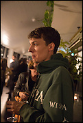ED FORNIELES; , Frieze party, ACE hotel Shoreditch. London. 18 October 2014