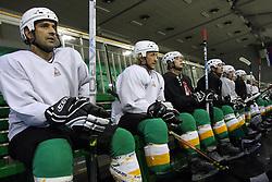Ralph Intranuovo, Tomaz Vnuk at second ice hockey practice of HDD Tilia Olimpija on ice in the new season 2008/2009, on August 19, 2008 in Hala Tivoli, Ljubljana, Slovenia. (Photo by Vid Ponikvar / Sportal Images)