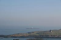 View of Dalkey Island in Dublin Ireland
