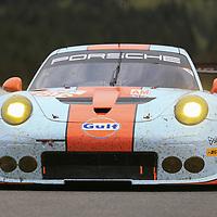 #86, Gulf Racing, Porsche 911 RSR(991), driven by, Michael Wainwright, Ben Barker, Nick Foster, FIA WEC 6hrs of Spa 2017, 06/05/2017,