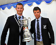 Henley on Thames. United Kingdom. Winners of The Double Sculls Challenge Cup. A. N. ARMS and R.W.MANSON, (Waiariki Rowing Club, New Zealand) 2013 Henley Royal Regatta, Henley Reach. 17:09:57  Sunday  07/07/2013  [Mandatory Credit;Intersport Images]