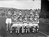 1958 - Ireland v Holland Amateur International, Dalymount Park, Dublin
