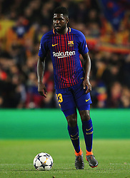 Samuel Umtiti of Barcelona - Mandatory by-line: Matt McNulty/JMP - 14/03/2018 - FOOTBALL - Camp Nou - Barcelona, Catalonia - Barcelona v Chelsea - UEFA Champions League - Round of 16 Second Leg