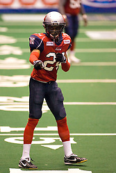 14 March 2009: Terrill Mayberry. The Sioux Falls Storm were hosted by the Bloomington Extreme in the US Cellular Coliseum in downtown Bloomington Illinois.