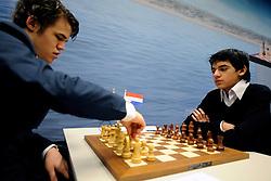 17-01-2011 SCHAKEN: TATA STEEL CHESS TOURNAMENT: WIJK AAN ZEE Anish Giri (foto) heeft in de derde ronde van het Tata Steel Schaaktoernooi in Wijk aan Zee voor een grote verrassing gezorgd. De 16-jarige schaker uit Rijswijk versloeg maandag in recordtempo de Noor Magnus Carlsen NOO<br /> ©2010-WWW.FOTOHOOGENDOORN.NL