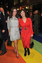 ARLENE PHILLIPS and her daughter arrive at the press night of the new Andrew Lloyd Webber  musical 'The Wizard of Oz' at The London Palladium, Argylle Street, London on 1st March 2011 followed by an aftershow party at One Marylebone, London NW1