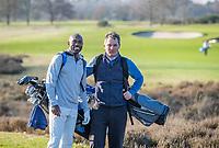 ARNHEM - Atleet Churandy Martina , sprinter op de golfbaan met les van Thomas IJland,  COPYRIGHT KOEN SUYK
