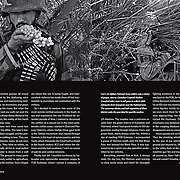Virginia Quarterly Review (VQR) spread from feature on Kandahar.