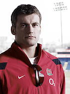 Mark Cueto photographed at Sale