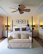 The Kahala Resort and Hotel, located in Honolulu on the souths side of Diamond Head, offers luxurious accommodations and is the only hotel in Oahu with a dolphin program.  Cocoa Head Oceanfront Suite, room 413