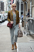 Aug. 13, 2014 - New York, New York, U.S. - <br /> <br /> CATE BLANCHETT out and about in Midtown. Blanchett was named the best-dressed woman of the year by Vanity Fair this month.<br /> ©Exclusivepix