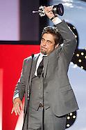 092614 62nd San Sebastian Festival: Benicio del Toro Receives Donostia Award 2014