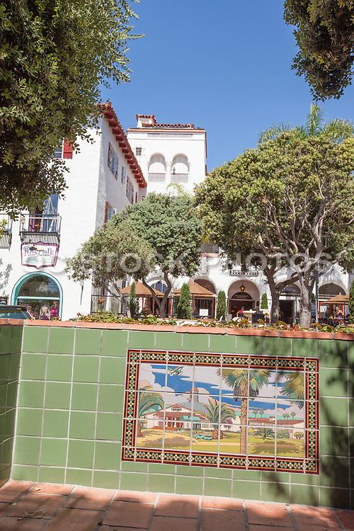 Downtown San Clemente on Del Mar Street