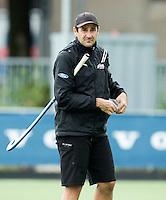 BREDA (Neth.)  Coach Sean Dancer  of NZ before the match  New Zealand vs England U21 women . Volvo Invitational Tournament U21. COPYRIGHT KOEN SUYK