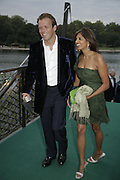 Joel and Divia Cadbury, Party Belle Epoque hosted by The Royal Parks Foundation and Champagne Perrier Jouet. The Grand Spiegeltent, the Lido Lawns. Hyde Park. London. 14 September 2006. ONE TIME USE ONLY - DO NOT ARCHIVE  © Copyright Photograph by Dafydd Jones 66 Stockwell Park Rd. London SW9 0DA Tel 020 7733 0108 www.dafjones.com