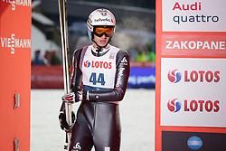 22.01.2016, Wielka Krokiew, Zakopane, POL, FIS Weltcup Ski Sprung, Zakopane, Herren, Qualification, im Bild Gregor Deschwanden SUI // during mens Large Hill Qualification of FIS Ski Jumping world cup at the Wielka Krokiew in Zakopane, Poland on 2016/01/22. EXPA Pictures © 2016, PhotoCredit: EXPA/ Newspix/ Marcin Kadziolka/PPC/NEWSPIX.PL<br /> <br /> *****ATTENTION - for AUT, SLO, CRO, SRB, BIH, MAZ, TUR, SUI, SWE only*****