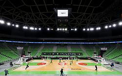 Arena during basketball match between KK Cedevita Olimpija (SLO) and Virtus Segafredo Bologna (ITA) in Top 16 Round 5 of 7DAYS Eurocup 2020/21, on March 2, 2021 in Arena Stozice, Ljubljana, Slovenia. Photo by Vid Ponikvar / Sportida