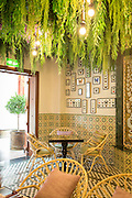 Interior of Omnia Gourmet restaurant, Dubai, United Arab Emirates