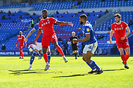 Nottingham Forest's Tyler Blackett (24) in action during the EFL Sky Bet Championship match between Cardiff City and Nottingham Forest at the Cardiff City Stadium, Cardiff, Wales on 2 April 2021.