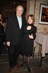 Actor JIM BROADBENT and his wife ANASTASIA at a reception to Discover Wilton's Music Hall held at the hall in Graces Alley, London E1 on 5th December 2007.<br /><br />NON EXCLUSIVE - WORLD RIGHTS