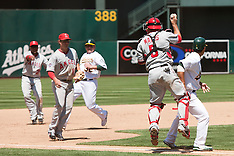 20100711 - Los Angeles Angels at Oakland Athletics (Major League Baseball)