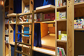 Bookstore-Themed  Hotel