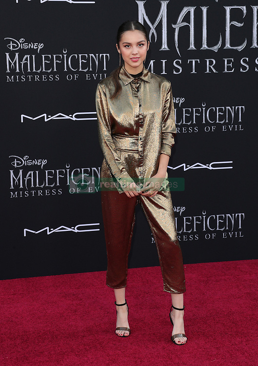 Maleficent: Mistress of Evil Premiere. 30 Sep 2019 Pictured: Olivia Rodrigo. Photo credit: Jen Lowery / MEGA TheMegaAgency.com +1 888 505 6342