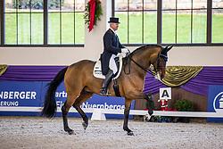 Kronberg, Gestüt Schafhof, KRONBERG _ Int. Festhallen Reitturnier Schafhof Edition 2020<br /> <br /> SCHMIDT Hubertus (GER), Beryil 28<br /> Louisdor-Preis - Finale 2020 <br /> Nachwuchspferde Grand Prix für 8 - 10j. Pferde / Einlaufprüfung <br /> Kurz Grand Prix<br /> Dressurprüfung Kl.S***<br /> <br /> 19. December 2020<br /> © www.sportfotos-lafrentz.de/Stefan Lafrentz
