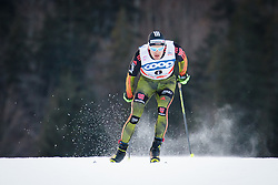 Eisenlauer Sebastian (GER) during Man 1.2 km Free Sprint Qualification race at FIS Cross<br /> Country World Cup Planica 2016, on January 16, 2016 at Planica,Slovenia. Photo by Ziga Zupan / Sportida