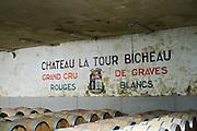 barrel aging cellar chateau la tour bichot graves bordeaux france