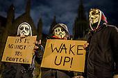 Million Mask March, London