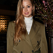 Kotelevska Yuliia attend Travel bag brand hosts the launch of its exclusive luxury collection of handbags in collaboration with model and designer Anastasiia Masiutkina  D'Ambrosio on 26 March 2019, Caviar House & Prunier 161 Piccadilly, London, UK.
